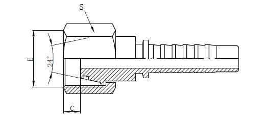 Reservdelar för hydraulisk montering