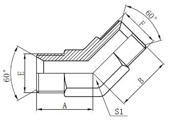 Industriella rördelar Drawing