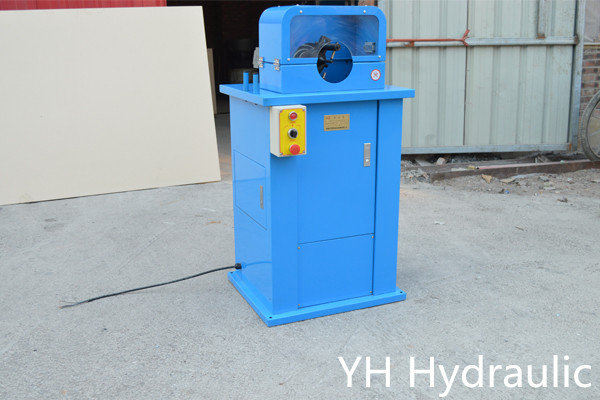 hydraulisk slangskivmaskin